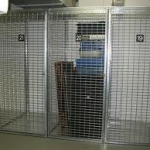 Open Cage Lockers