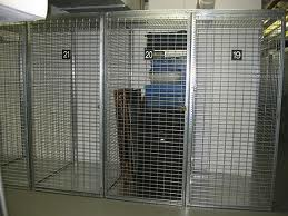 Open Cage Lockers